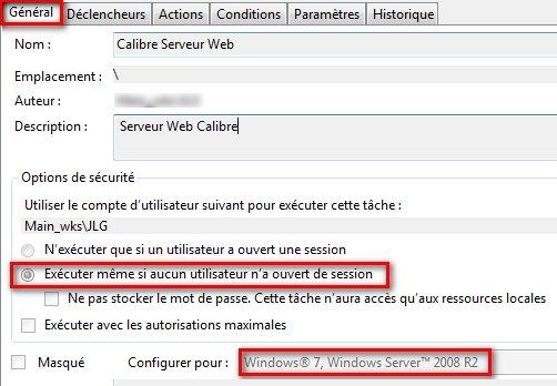 partage web windows serveur